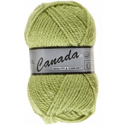 Image of   Lammy Canada Garn Unicolor 277 Limegrøn