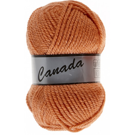 Image of   Lammy Canada Garn Unicolor 124 Lys Orange