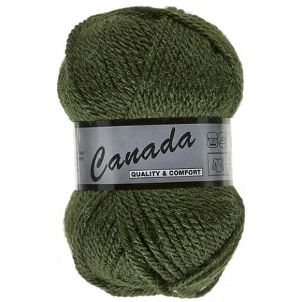 Image of   Lammy Canada Garn Unicolor 079 Armygrøn