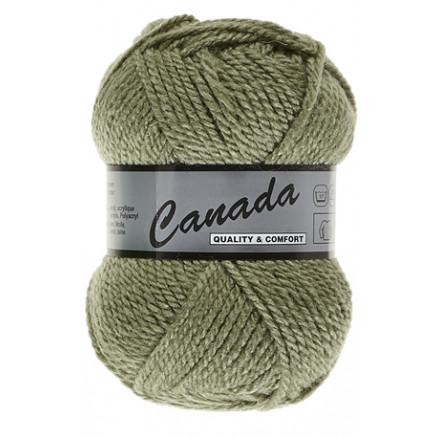 Image of   Lammy Canada Garn Unicolor 076 Lys Armygrøn