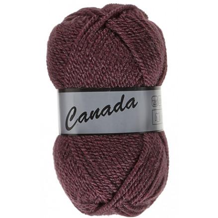 Image of   Lammy Canada Garn Unicolor 062 Bordeaux