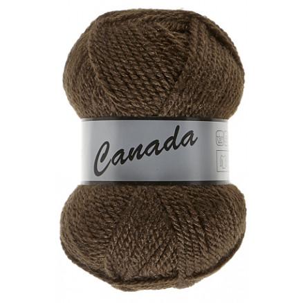 Image of   Lammy Canada Garn Unicolor 049 Mørkebrun