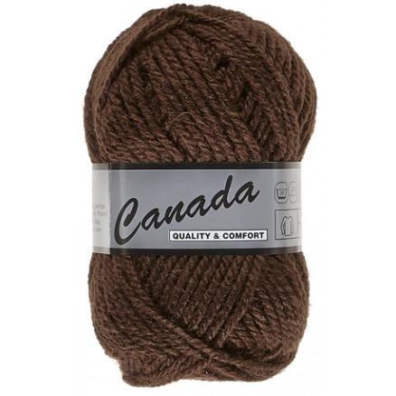 Image of   Lammy Canada Garn Unicolor 048 Brun