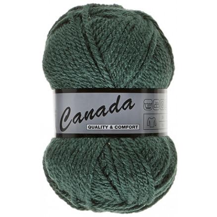Image of   Lammy Canada Garn Unicolor 045 Mørkegrøn