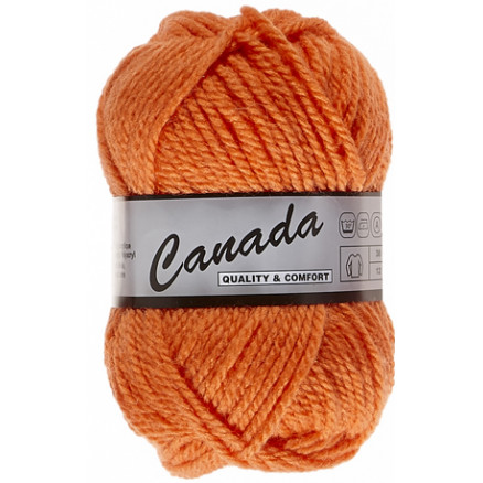 Image of   Lammy Canada Garn Unicolor 041 Orange
