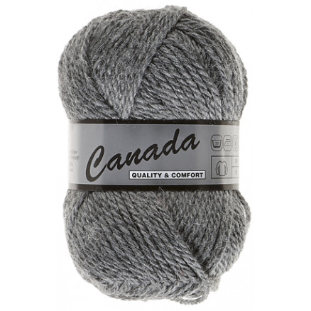 Image of   Lammy Canada Garn Unicolor 038 Grå