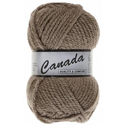 Image of   Lammy Canada Garn Unicolor 027 Lysebrun