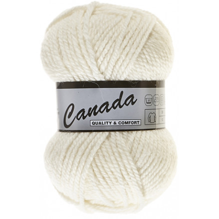 Image of   Lammy Canada Garn Unicolor 016 Natur