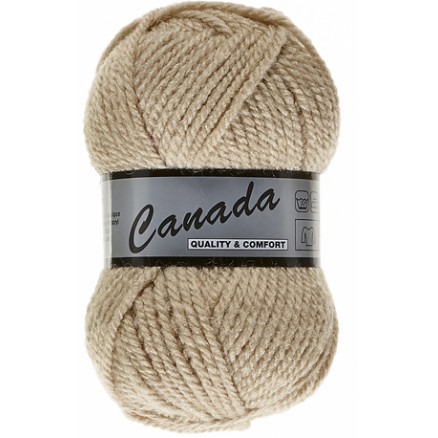 Image of   Lammy Canada Garn Unicolor 015 Beige