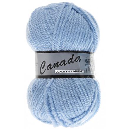 Image of   Lammy Canada Garn Unicolor 011 Babyblå