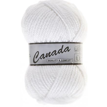 Image of   Lammy Canada Garn Unicolor 005 Hvid