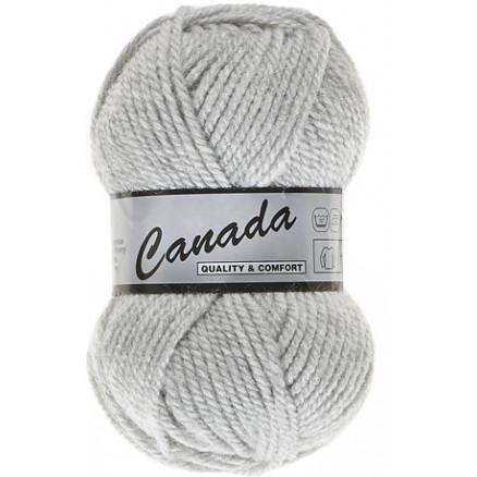Image of   Lammy Canada Garn Unicolor 003 Perlegrå