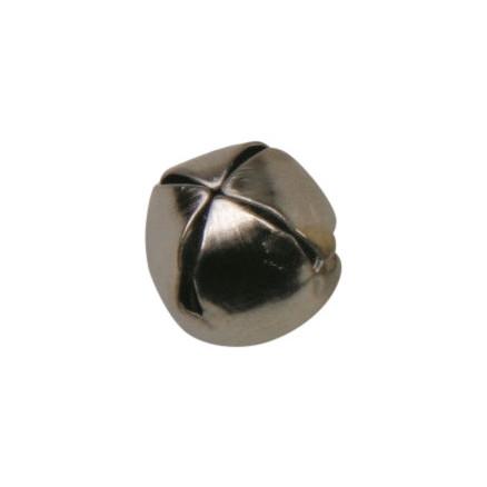 Bjælde / Rasleklokke Sølv 10mm - 10 stk thumbnail