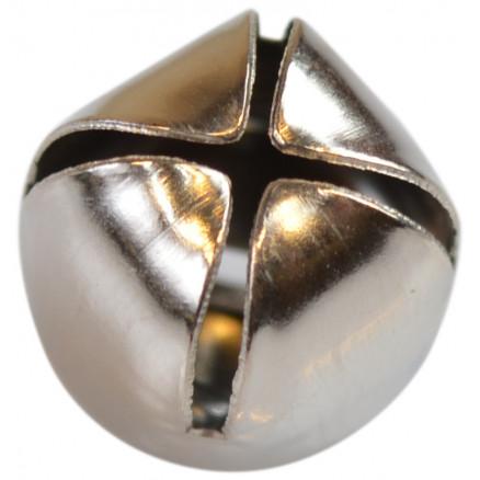 Bjælde / Rasleklokke Sølv 12mm - 10 stk thumbnail