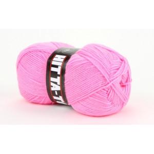 Mayflower Hit Ta-Too Garn Unicolor 101 Neon Rosa