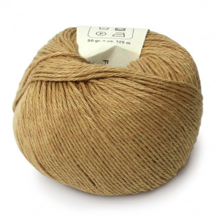 Bc Garn Allino Unicolor 22 Mørk Beige