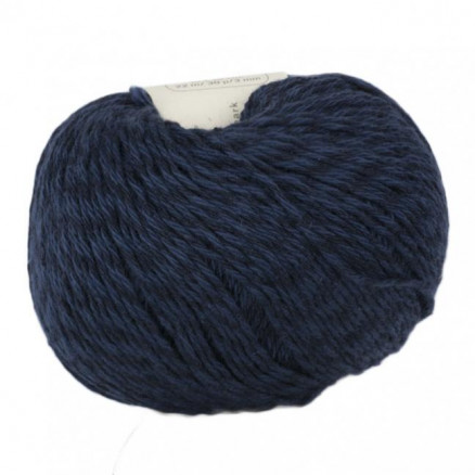 Bc Garn Allino Unicolor 32 Navy Blå