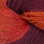 BC Garn Soft Silk Håndfarvet 150 Rød/Lilla