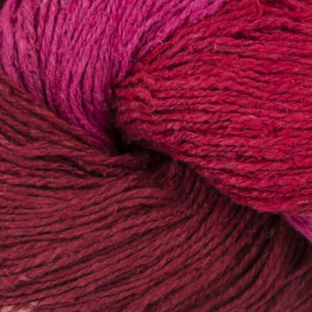 Image of   BC Garn Soft Silk Håndfarvet 151 Bordeaux/Pink