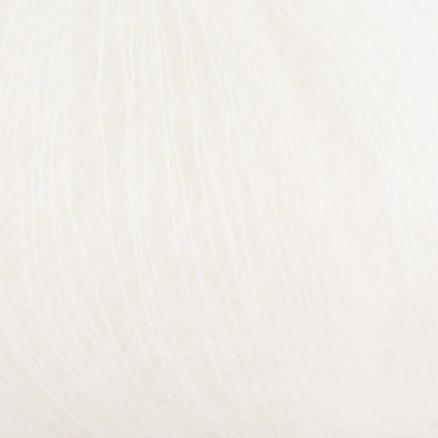 Kremke Silky Kid Unicolor 001 Hvid thumbnail