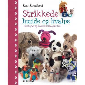 Strikkede hunde og hvalpe - Bog af Sue Stratford