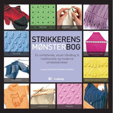 Image of   Strikkerens mønsterbog - Bog af Lesley Stanfield og Melody Griffiths