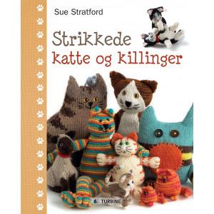 Strikkede katte og killinger - Bog af Sue Stratford