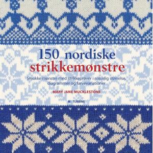 150 nordiske strikkemønstre - Bog af Mary Jane Mucklestone