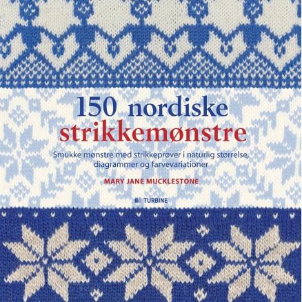 Image of 150 nordiske strikkemønstre - Bog af Mary Jane Mucklestone