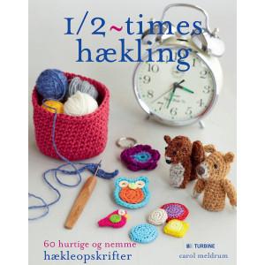 Image of   1/2 times hækling - Bog af Carol Meldrum