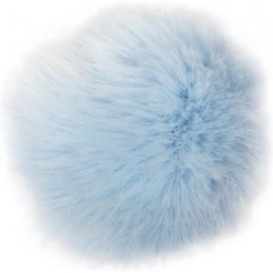 Rico Pompon Kvast Akryl Isblå 10 cm