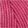 Knyttegarn, L: 100 m, tykkelse 2 mm, pink, Tyk kvalitet 12/36, 225g