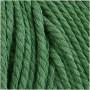 Knyttegarn, L: 100 m, tykkelse 2 mm, grøn, Tyk kvalitet 12/36, 225g