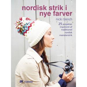 Nordisk strik i nye farver - Bog af Nicki Trench