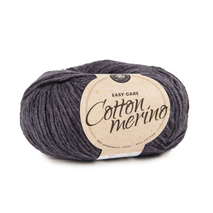 Mayflower Easy Care Cotton Merino Garn Solid 04 Koksgrå thumbnail
