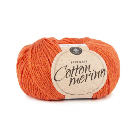 Mayflower Easy Care Cotton Merino Garn Solid 07 Orange thumbnail