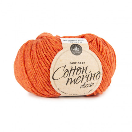 Mayflower Easy Care Classic Cotton Merino Garn Solid 107 Orange thumbnail