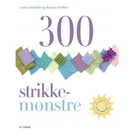 Image of   300 strikkemønstre - Bog af Lesley Stanfield og Melody Griffiths