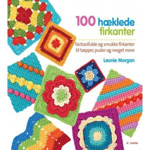 100 hæklede firkanter - Bog af Leonie Morgan