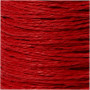Papirgarn, tykkelse 1,8 mm, L: 470 m, rød, tynd, 250g