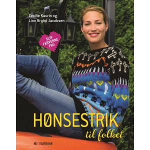 Hønsestrik til folket - Bog af Cecilie Kaurin og Linn Bryhn Jacobsen