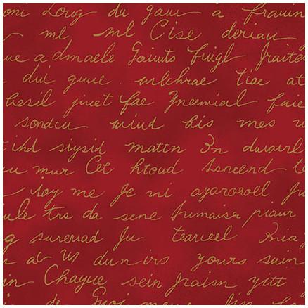 Christmas Wonders Bomuldsstof 112cm Farve 412 - 50cm thumbnail