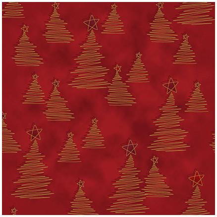 Christmas Wonders Bomuldsstof 112cm Farve 403 - 50cm thumbnail