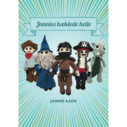 Image of   Jannies hæklede helte - Bog af Jannie Aaen
