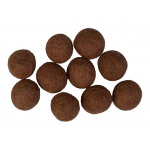 Diverse Filtkugler 20mm brun bn1 - 10 stk på rito.dk