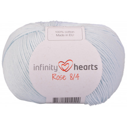 Image of   Infinity Hearts Rose 8/4 Garn Unicolor 79 Baby Blå
