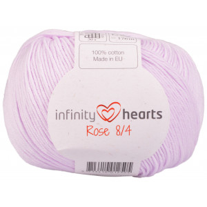 Infinity Hearts Rose 8/4 Garn Unicolor 50 Pudder