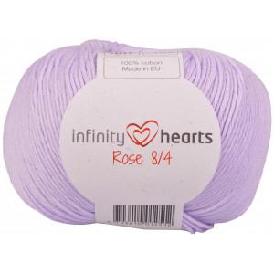 Infinity Hearts Rose 8/4 Garn Unicolor 66 Lys Lilla