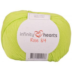 Infinity Hearts Rose 8/4 Garn Unicolor 145 Lime Grøn