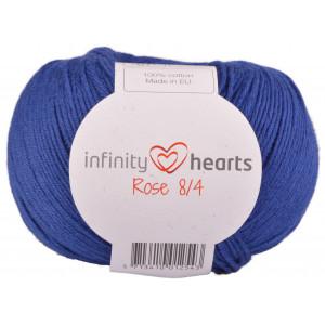 Infinity Hearts Rose 8/4 Garn Unicolor 109 Kongeblå